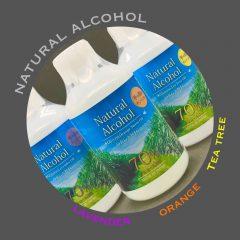 ナチュラル除菌アルコール
